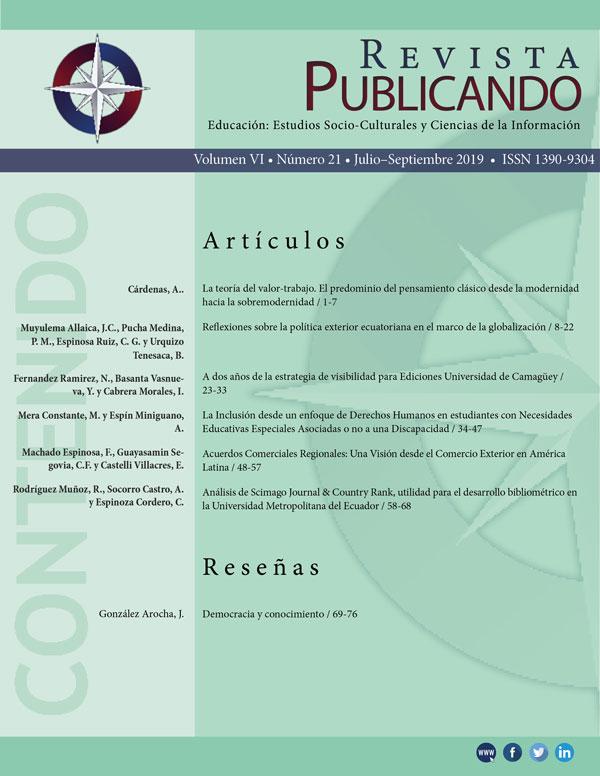 Revista Publicando